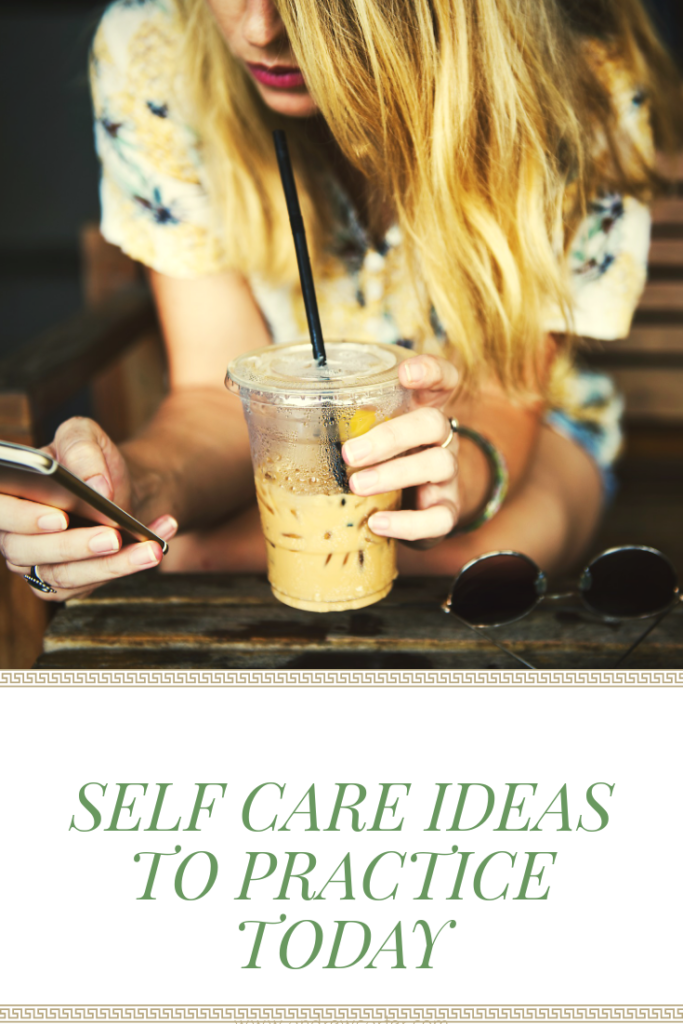Self Care Ideas for Depression
