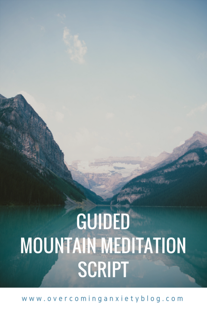 Guided Meditation Script: A Mountain Meditation
